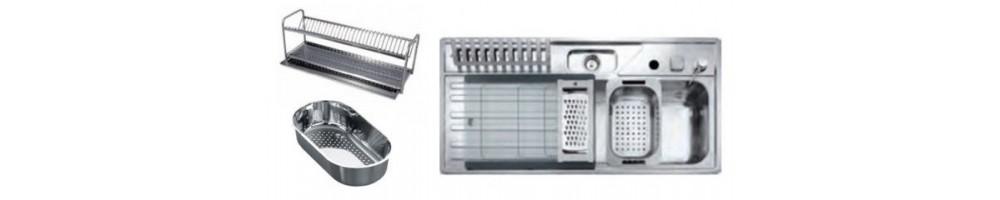 Accesorios fregaderos industriales | Mi Mobiliario Hostelería