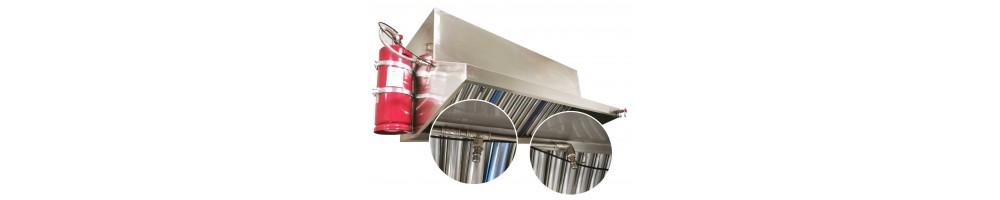 Sistemas de Extinción automatica cocinas | Mi Mobiliario Hostelería